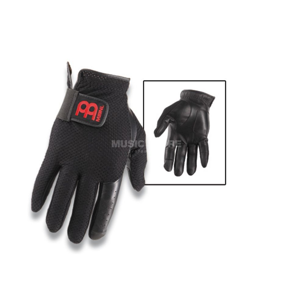 Meinl Drummer Gloves MDG-M, medium, w/fingers Produktbillede