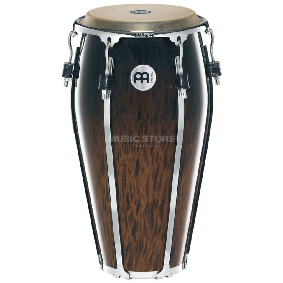 "Meinl Floatune Conga FL12BB, 12"", Brown Burl #BB Product Image"