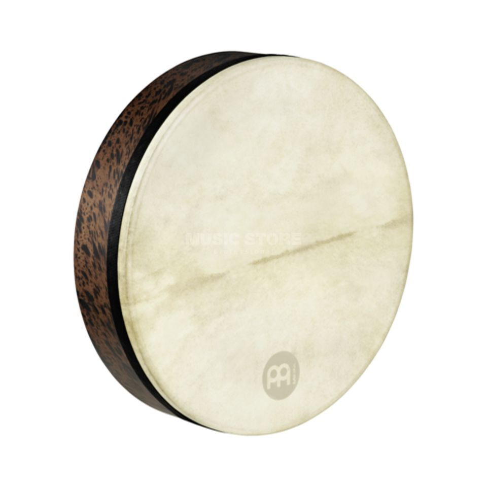 "Meinl Frame Drum Tar FD18T-D, 18"", Deep Shell, Brown Burl #BB Product Image"