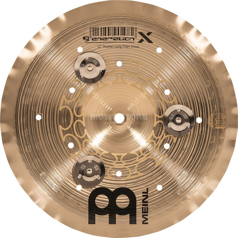 "Meinl Generation X Filter China 12"" GX-12FCH-J, with Jingles Immagine prodotto"