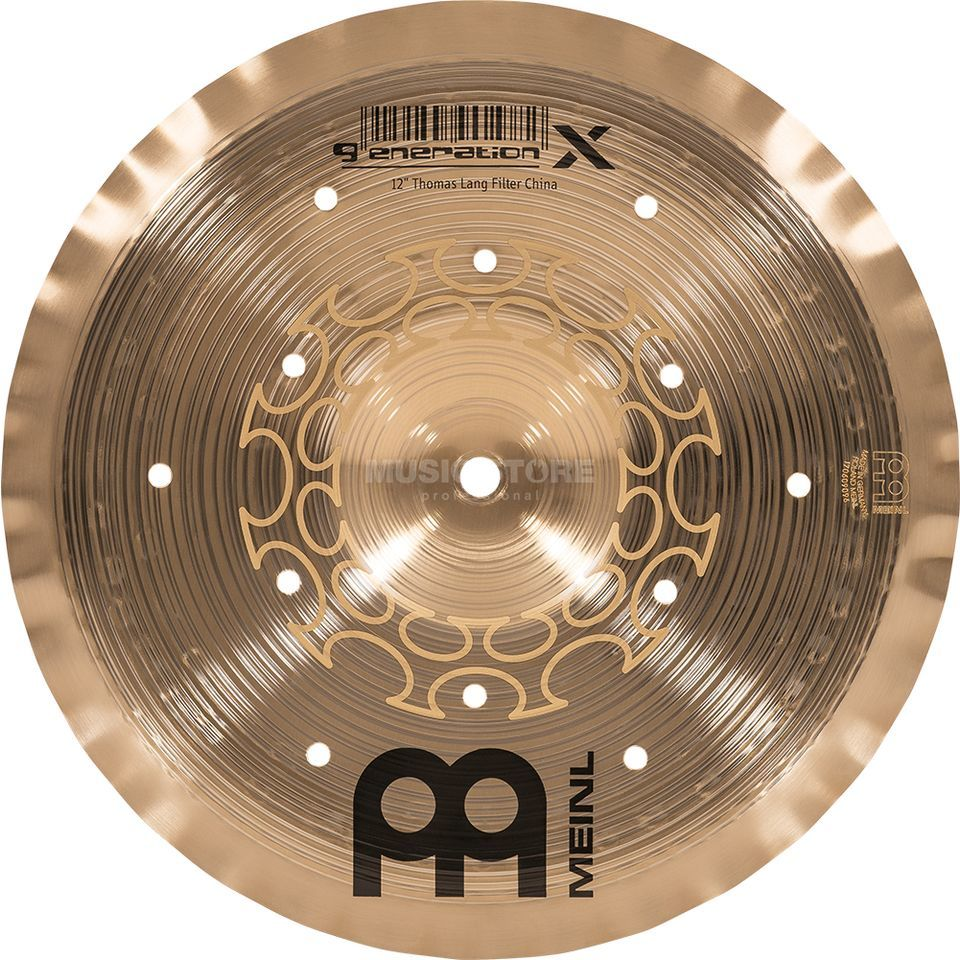 "Meinl Generation X Filter China 12"", GX-12FCH Productafbeelding"