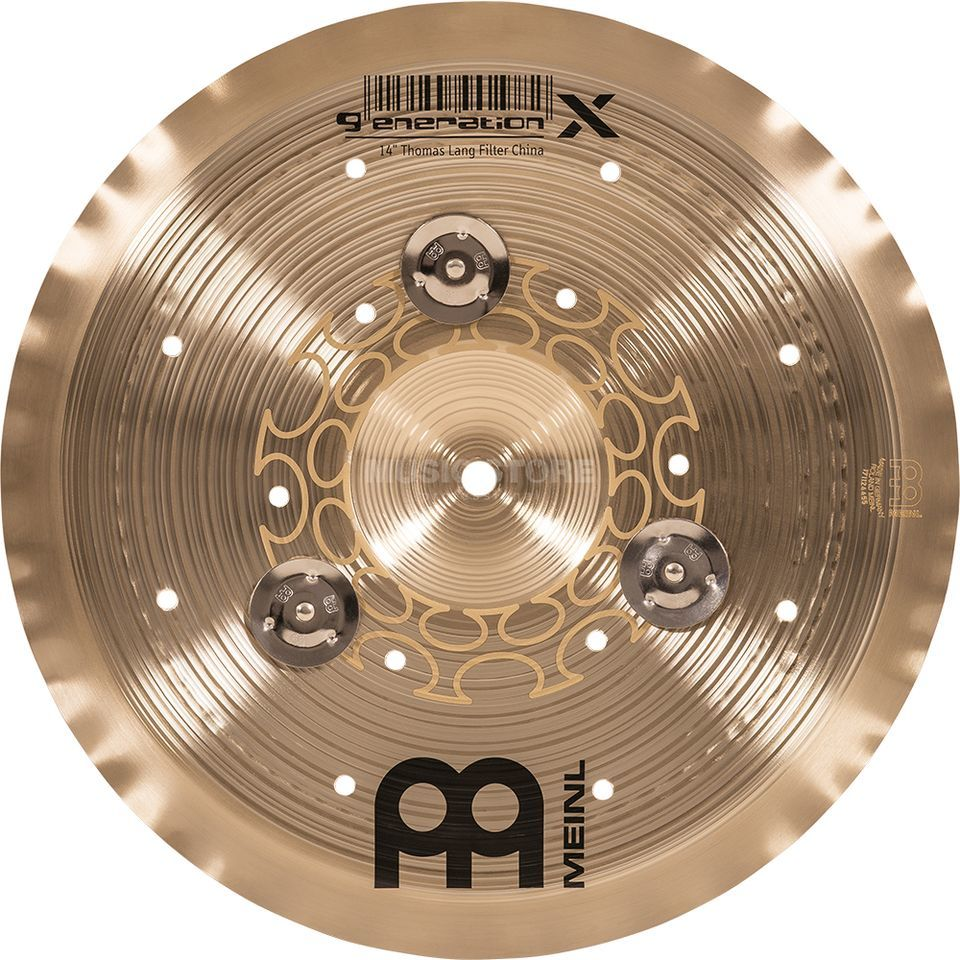 "Meinl Generation X Filter China 14"" GX-14FCH-J, with Jingles Produktbild"