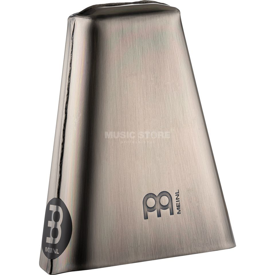 "Meinl Hand Cowbell STB65H, 6 1/2"", Hand Brushed Steel Produktbillede"