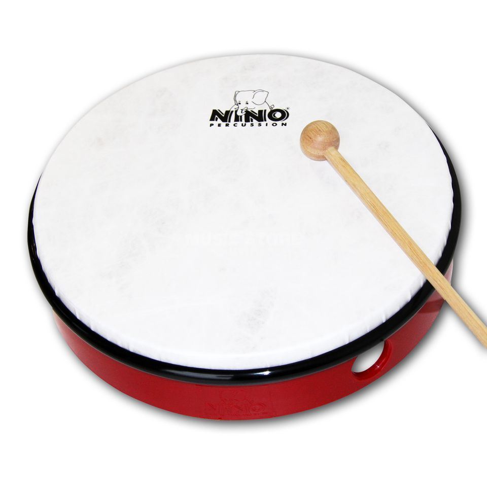 "Meinl HandDrum NINO6R, 12"", Red Product Image"