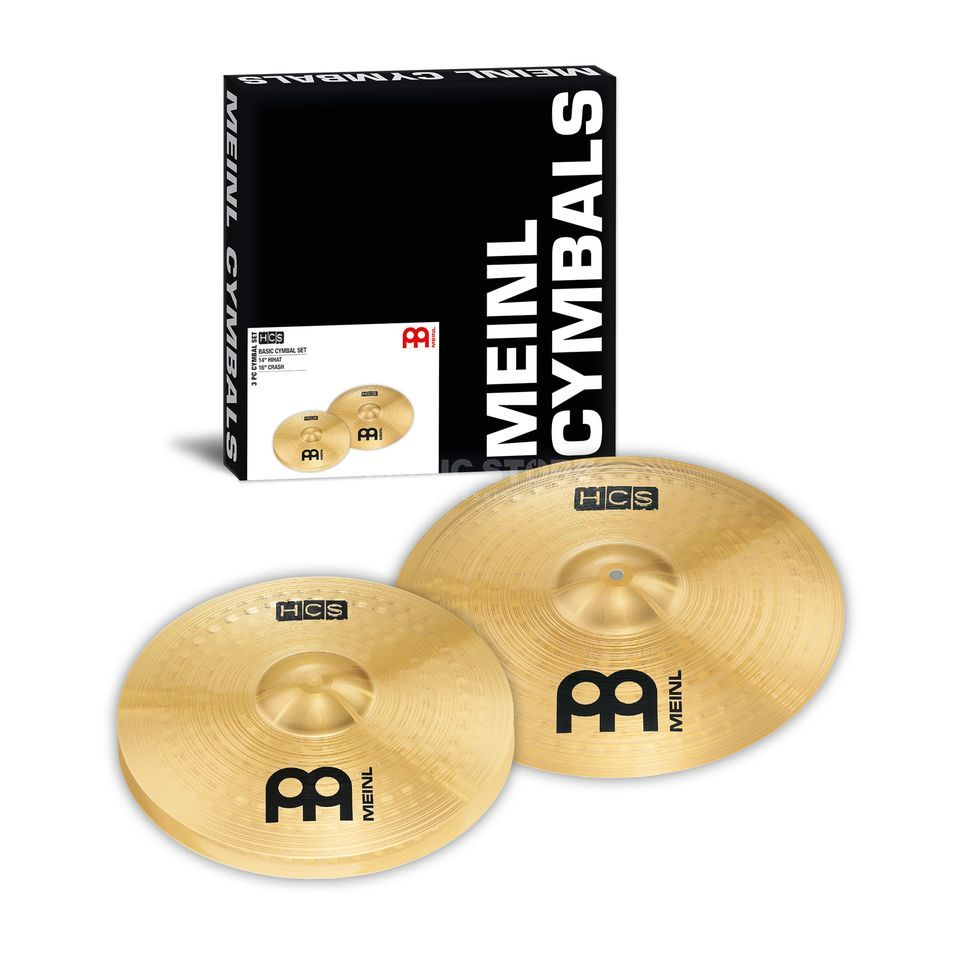 "Meinl HCS Cymbal Set 14""HiHat,16""Crash Product Image"