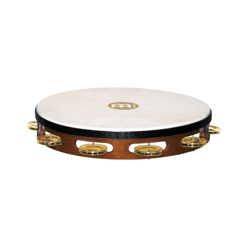 Meinl Headed Tambourine TAH1B-AB, Brass Product Image