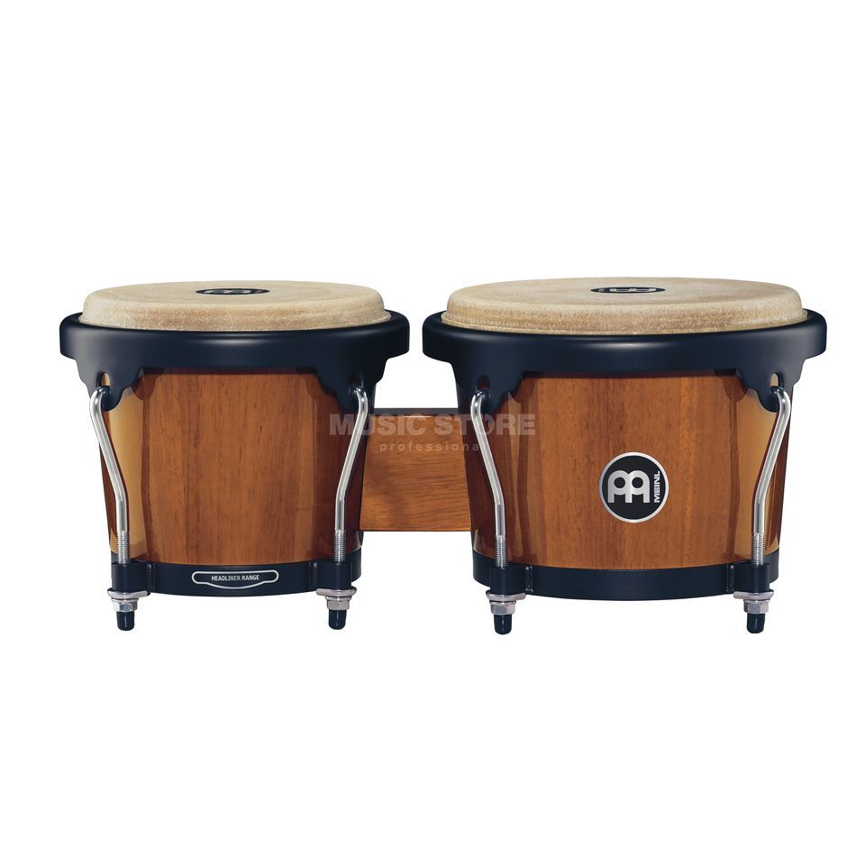 "Meinl Headliner Bongos HB100MA, 6 3/4""+8"", Maple #MA Product Image"