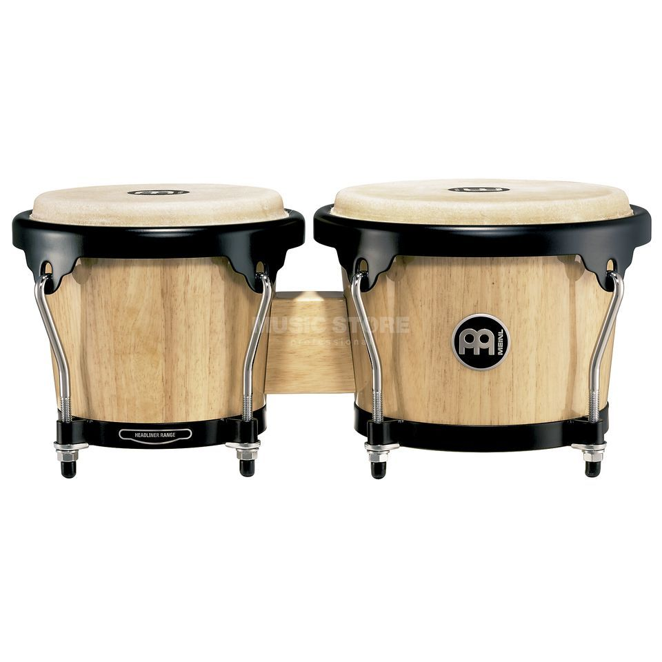 "Meinl Headliner Bongos HB100NT, 6 3/4""+8"", Natural #NT Product Image"