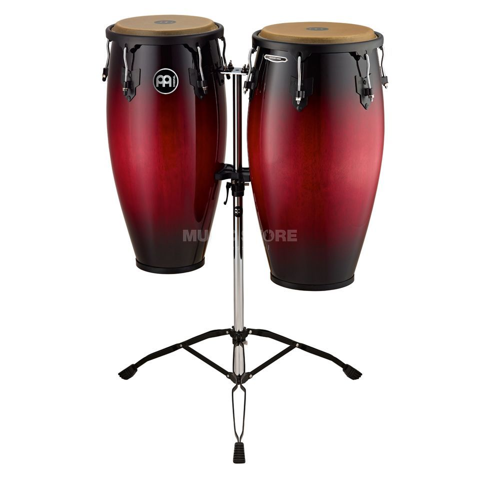 "Meinl Headliner Conga Set HC812WRB, 11"" & 12"", Wine Red Burst Produktbild"