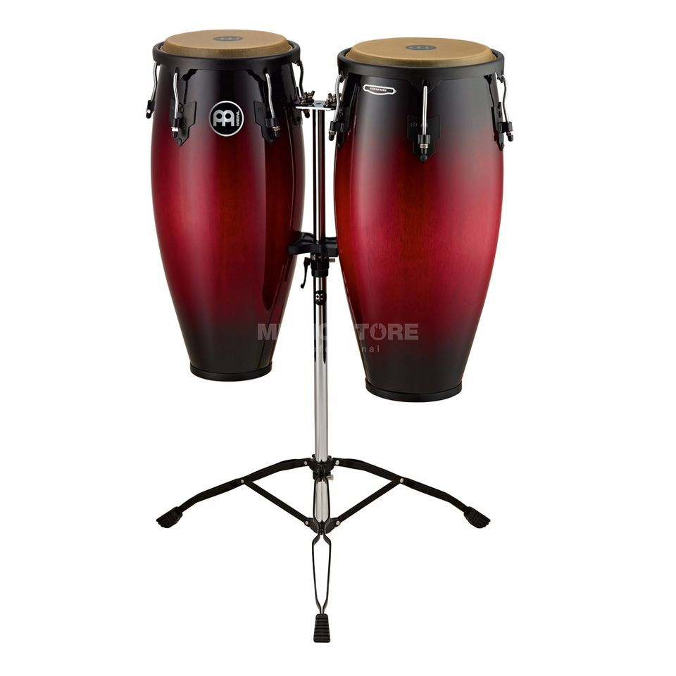 "Meinl Headliner Conga Set HC888WRB, 10"" & 11"", Wine Red Burst Produktbillede"