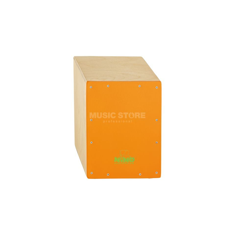 Meinl Kinder Cajon NINO950OR, Natural/Orange Produktbild