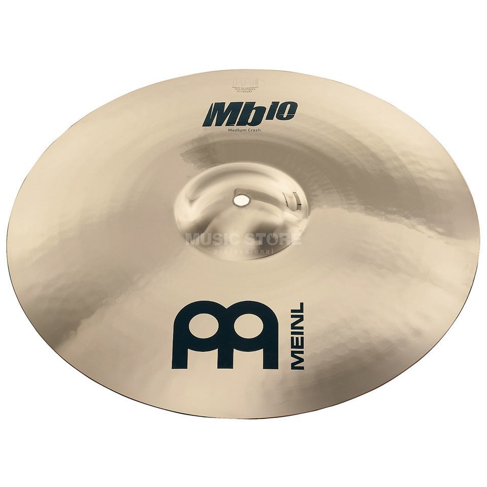 "Meinl MB10 Medium Crash 19"", MB10-19MC-B, Brilliant Finish Produktbillede"