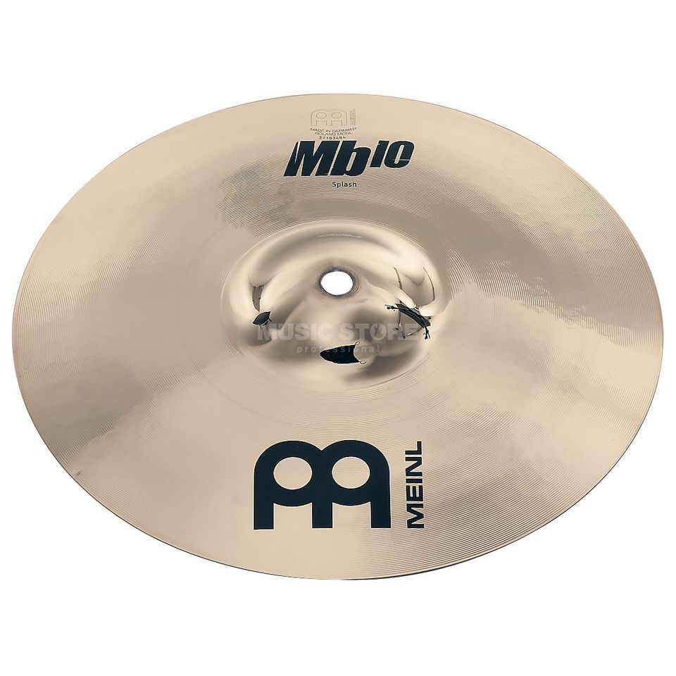 "Meinl MB10 Splash 10"" MB10-10S-B, Brilliant Finish Produktbillede"