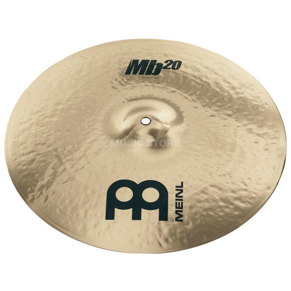 "Meinl MB20 Heavy Crash 16"" MB20-16HC-B, Brilliant Finish Productafbeelding"