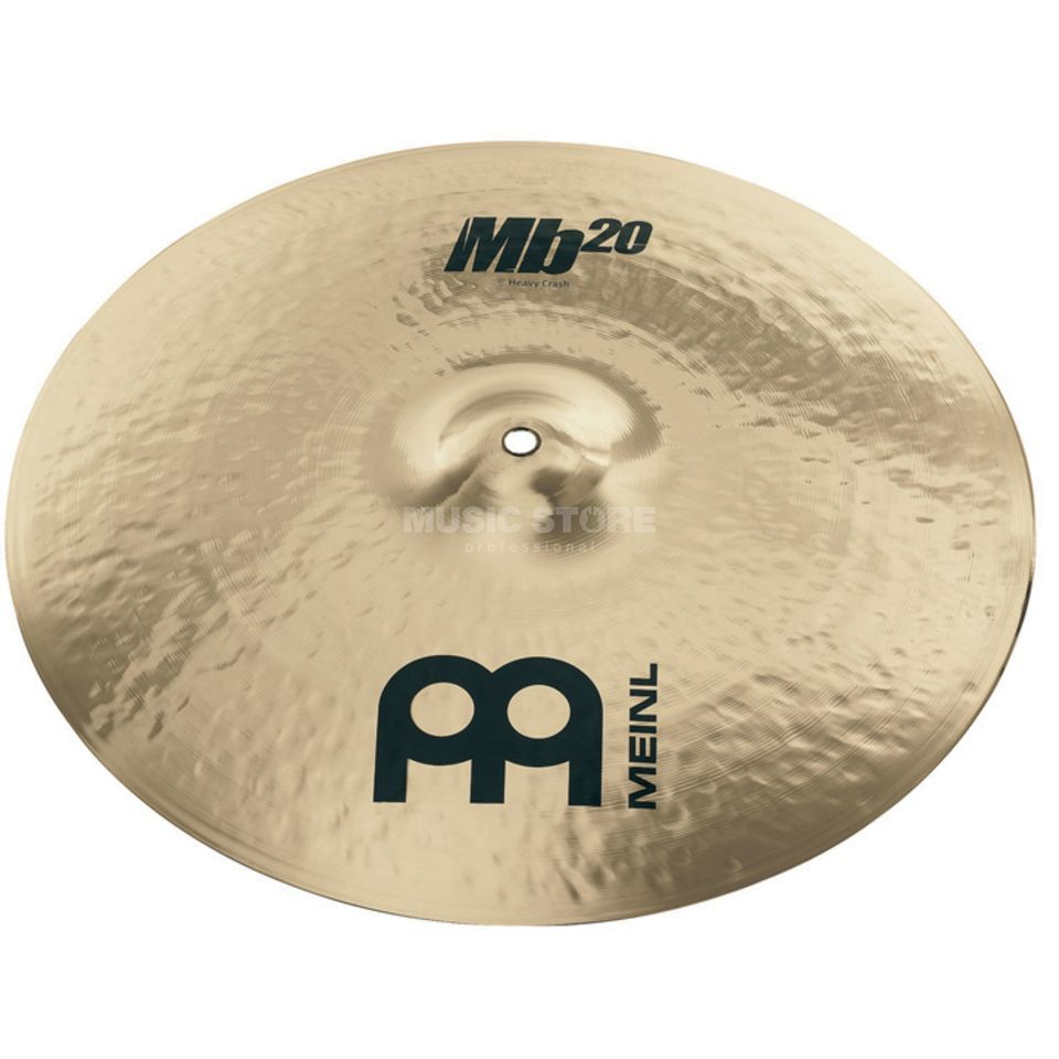 "Meinl MB20 Heavy Crash 17"" MB20-17HC-B, Brilliant Finish Produktbild"