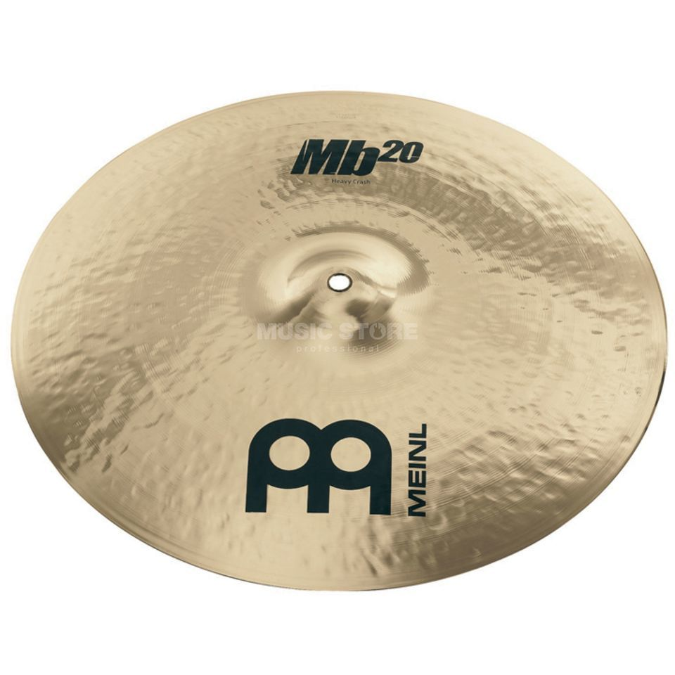 "Meinl MB20 Heavy Crash 18"" MB20-18HC-B, Brilliant Finish Produktbillede"