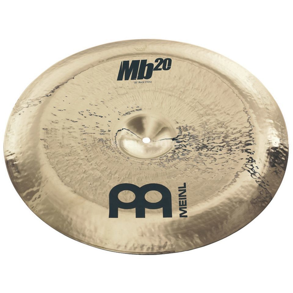 "Meinl MB20 Rock China 18"" MB20-18RCH-B, Brilliant Finish Produktbillede"