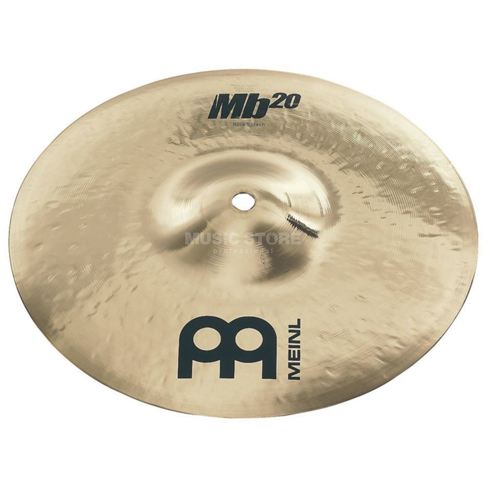 "Meinl MB20 Rock Splash 10"" MB20-10RS-B, Brilliant Finish Product Image"