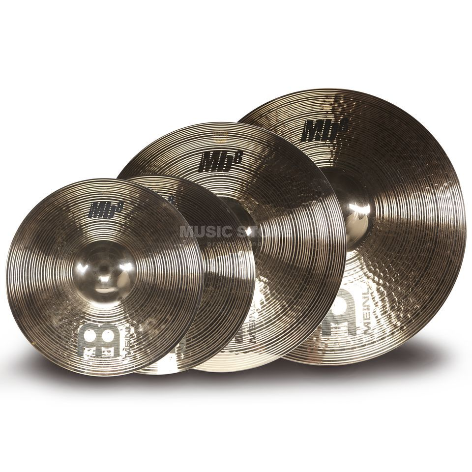 Meinl MB8 Cymbal Set MS-Edition, 14HH-B, 18MC-B, 20HR-B Produktbild