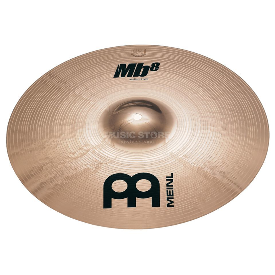 "Meinl MB8 Medium Crash 14"", MB8-14MC-B, Brilliant Finish Produktbillede"