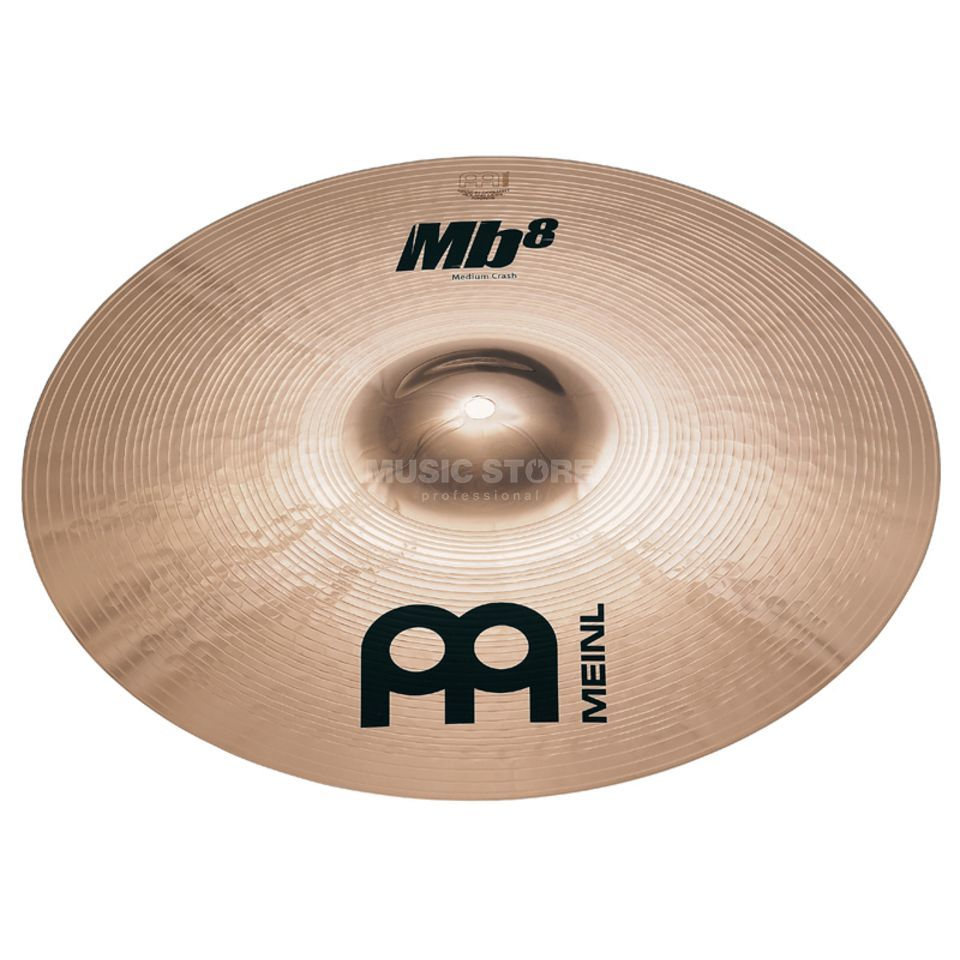 "Meinl MB8 Medium Crash 17"", MB8-17MC-B, Brilliant Finish Produktbild"