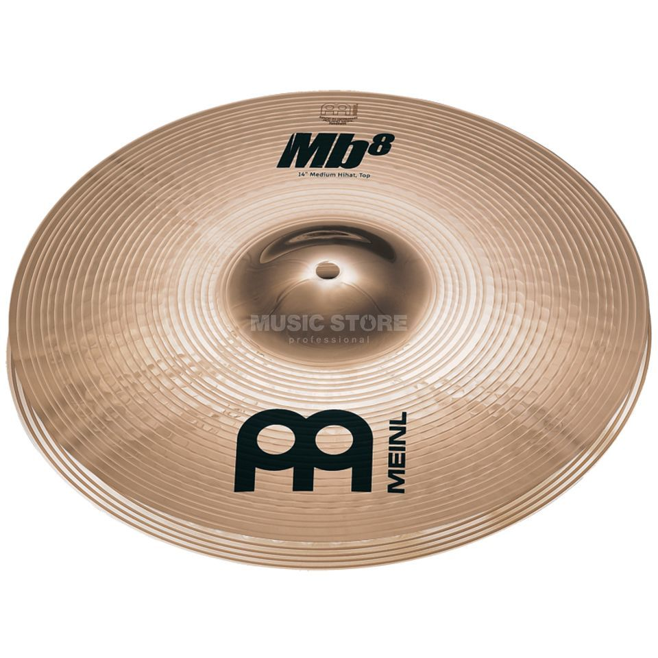 "Meinl MB8 Medium HiHat 14"", MB8-14MH-B, Brilliant Finish Produktbillede"