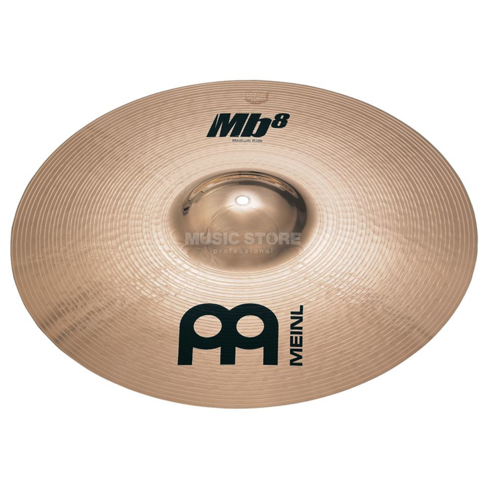 "Meinl MB8 Medium Ride 22"", MB8-22MR-B, Brilliant Finish Product Image"