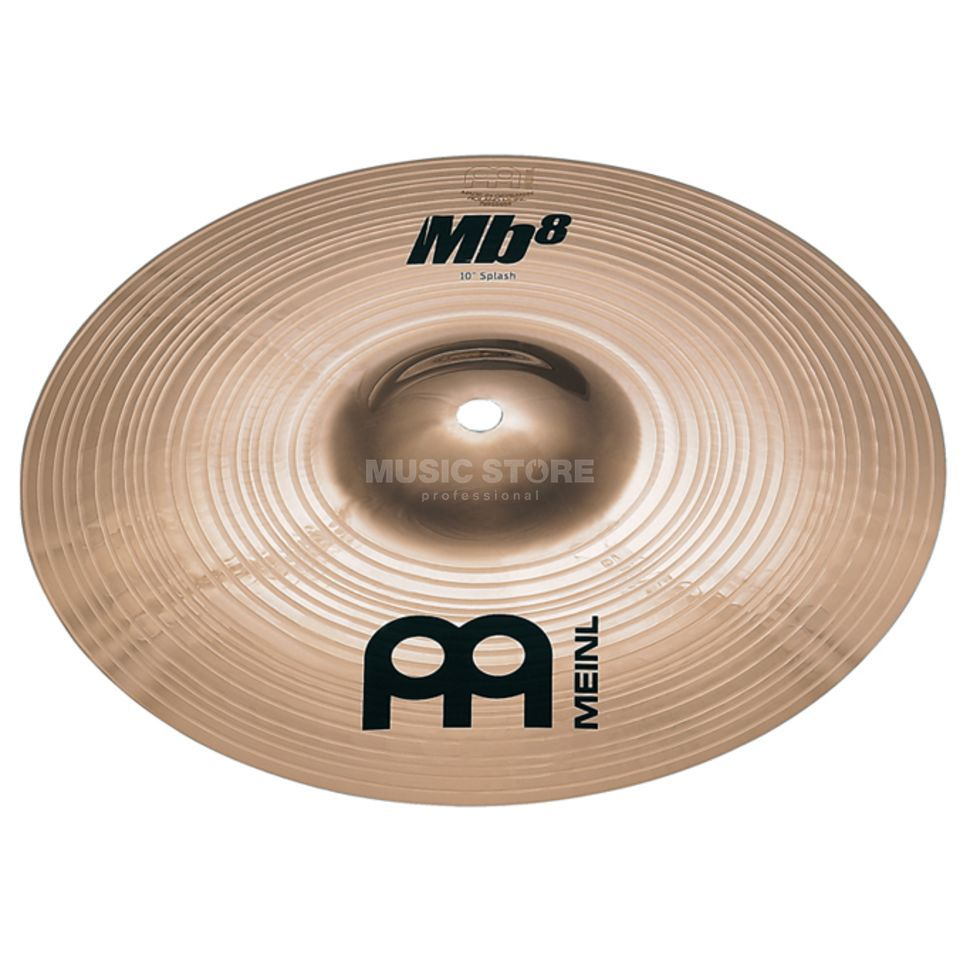 "Meinl MB8 Splash 10"" MB8-10S-B, Brilliant Finish Immagine prodotto"