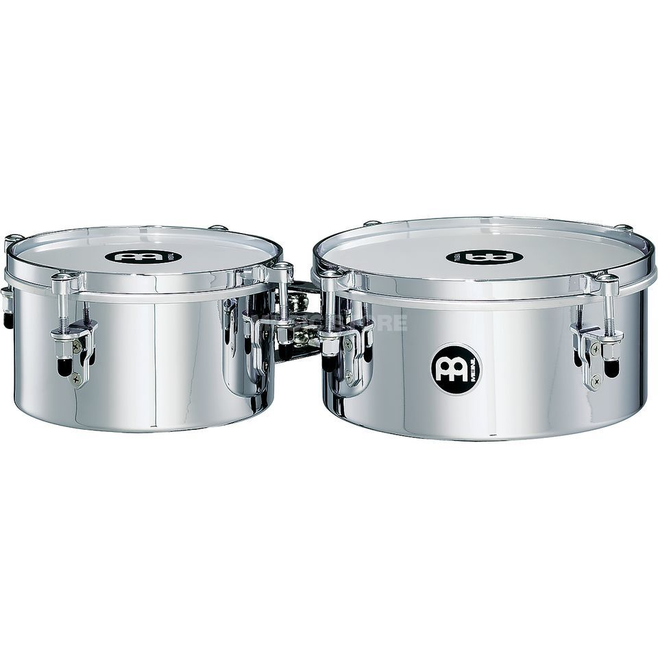 "Meinl Mini Timbales MIT810CH, 8"" & 10"", Chrome Finish Produktbild"