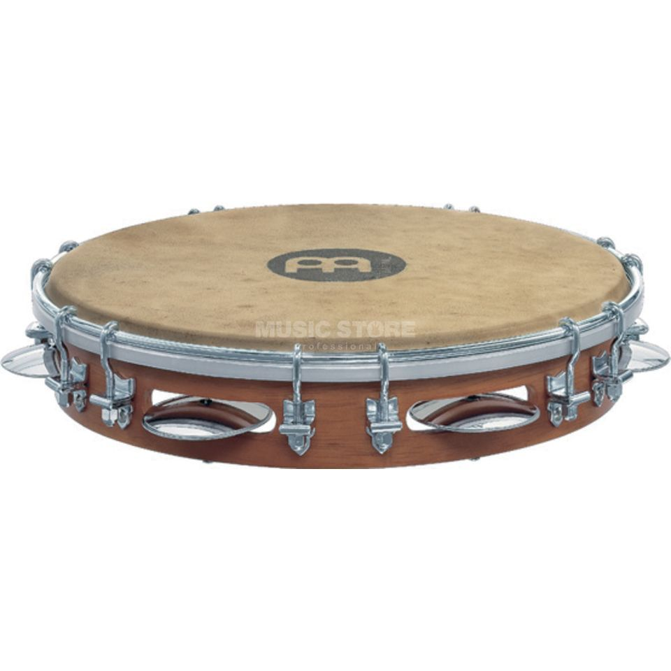 "Meinl Pandeiro PA10CN-M, 10"", Chest Nut #CN-M Product Image"
