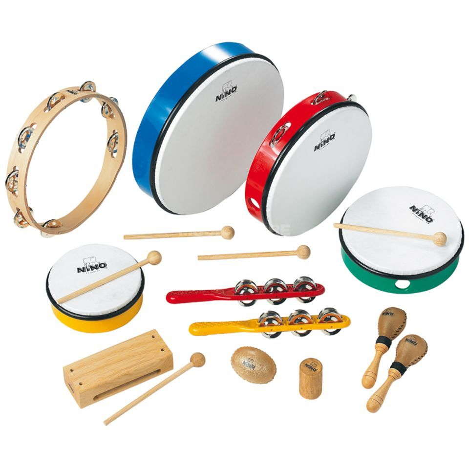 Meinl Percussion Set NINOSET012, 12-tlg. Klein-Percussion Produktbild