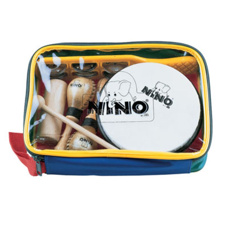 Meinl Percussion Set NINOSET1, 5 Instrumente + Bag Produktbild
