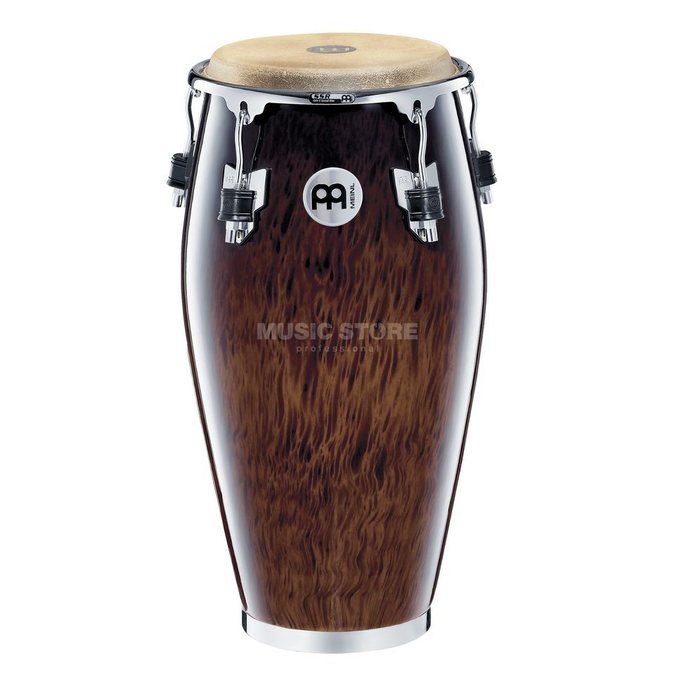 "Meinl Professional Conga MP11BB, 11"" Quinto, Brown Burl #BB Produktbillede"