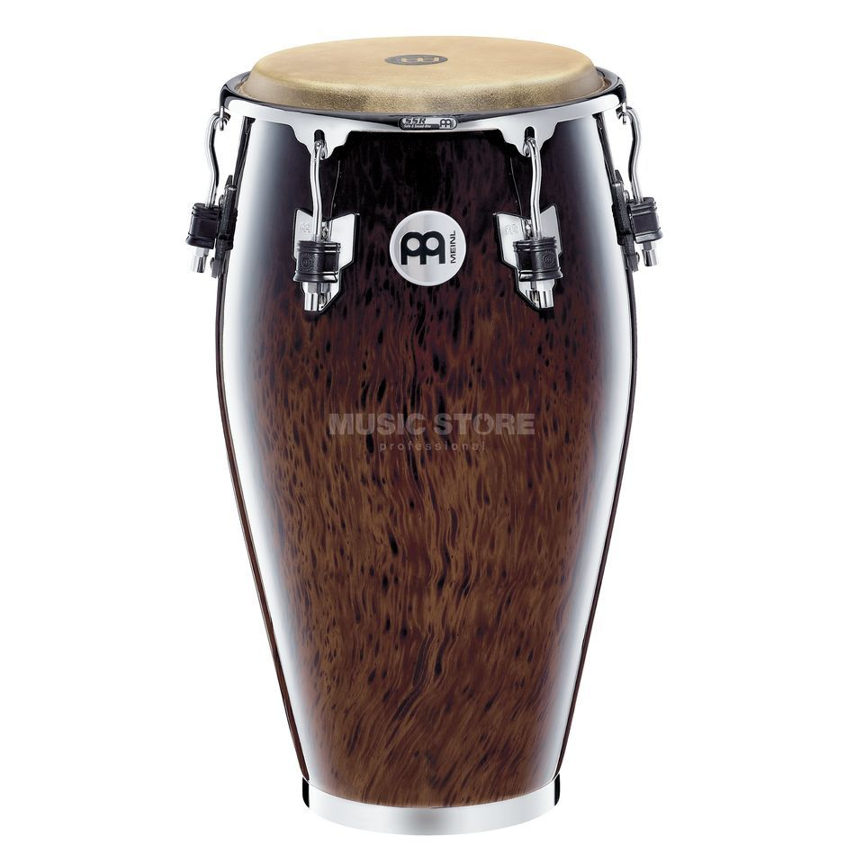 "Meinl Professional Conga MP1212BB, 12 1/2"" Tumba, Brown Burl #BB Produktbillede"
