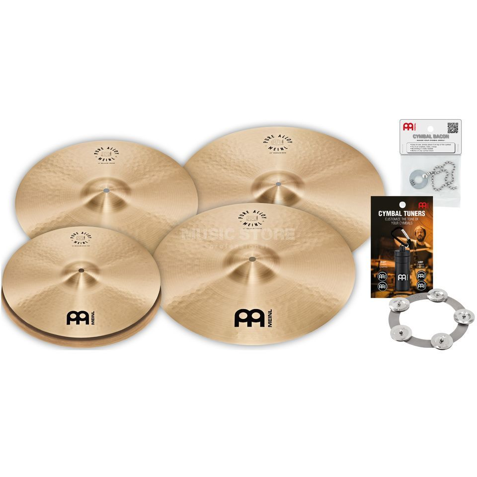 Meinl Pure Alloy Cymbal Set Big Product Image