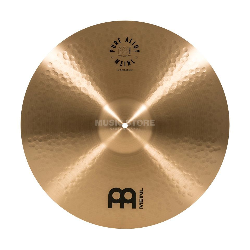 "Meinl Pure Alloy Ride 20"" PA20MR Medium Imagem do produto"