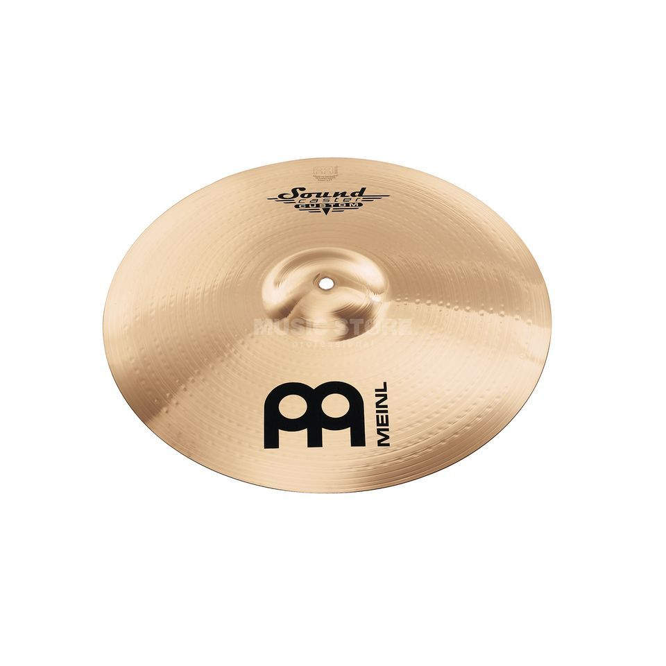 "Meinl SoundCaster Custom Crash 14"" SC14MC-B, Medium Image du produit"