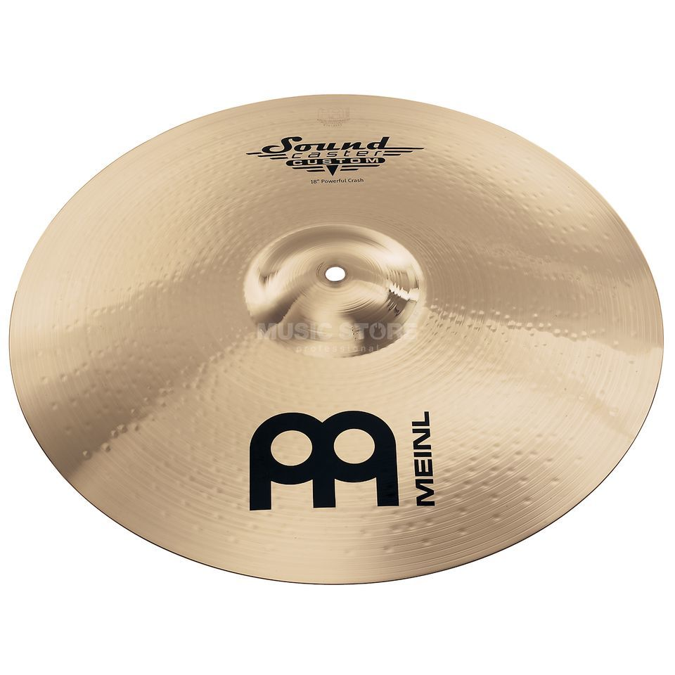 "Meinl SoundCaster Custom Crash 16"" SC16PC-B, Powerful Produktbillede"