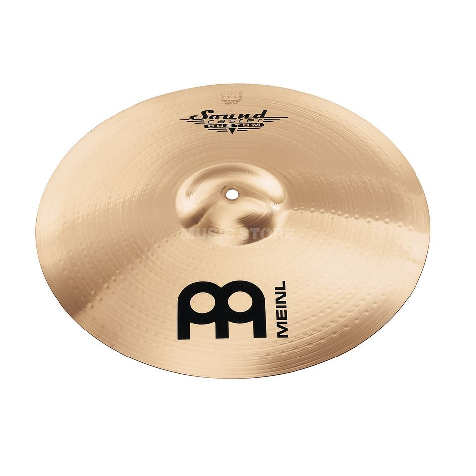 "Meinl SoundCaster Custom Crash 18"" SC18MC-B, Medium Produktbillede"
