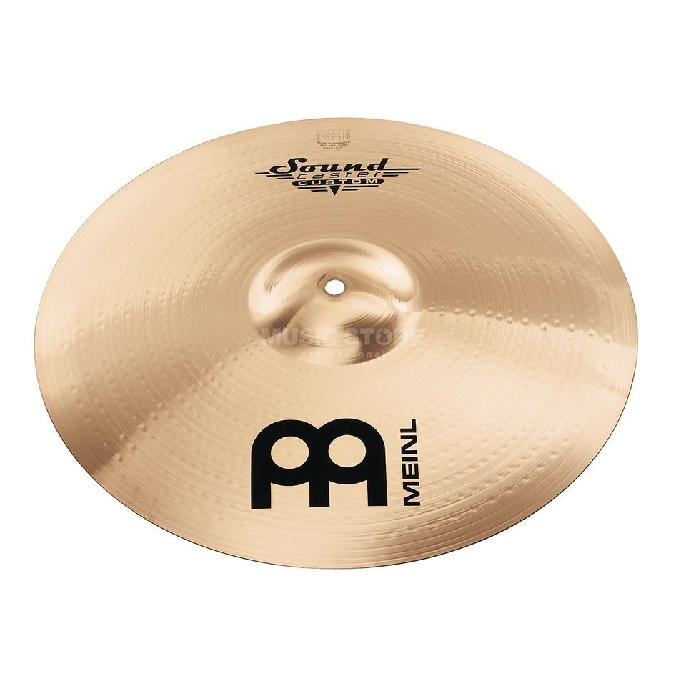 "Meinl SoundCaster Custom Crash 18"" SC18PC-B, Powerful Produktbild"