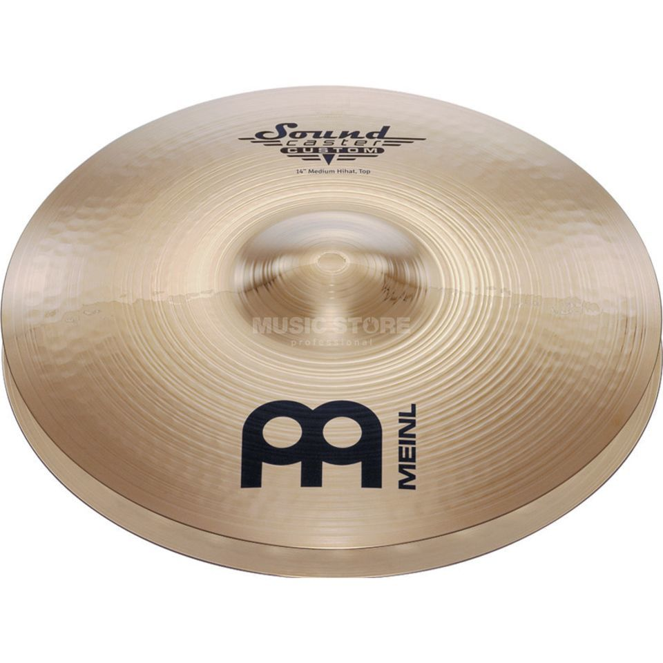"Meinl SoundCaster Custom HiHat 14"" SC14MH-B, Medium Productafbeelding"