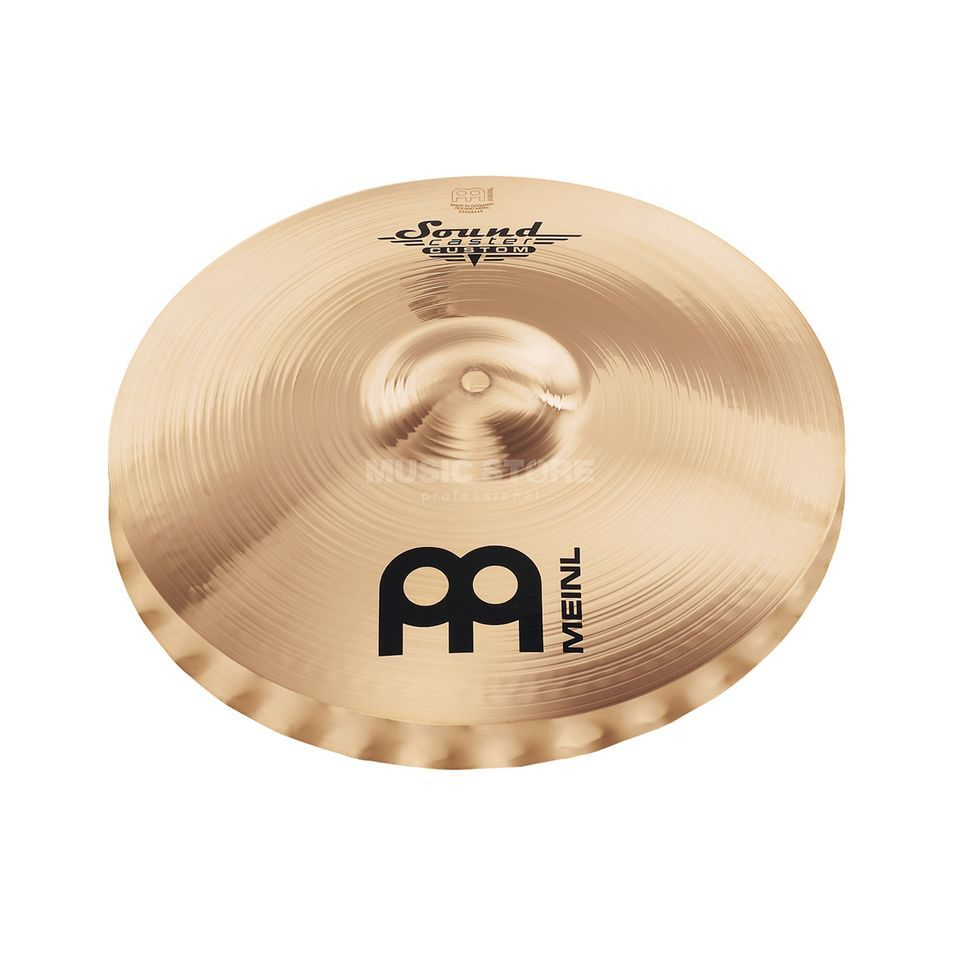 "Meinl SoundCaster Custom HiHat 14"" SC14MSW-B, Medium, Soundwave Produktbillede"
