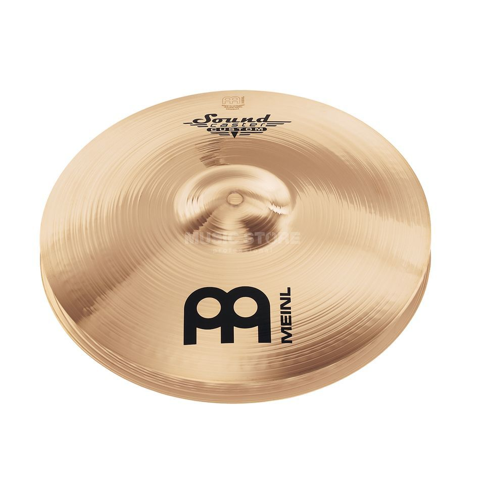 "Meinl SoundCaster Custom HiHat 14"" SC14PH-B, Powerful Produktbild"