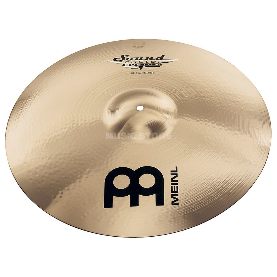 "Meinl SoundCaster Custom Ride 21"" SC21PR-B, Powerful Imagem do produto"