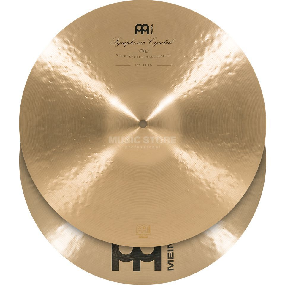 "Meinl Symphonic Cymbals 16"", Thin, SY-16T Product Image"
