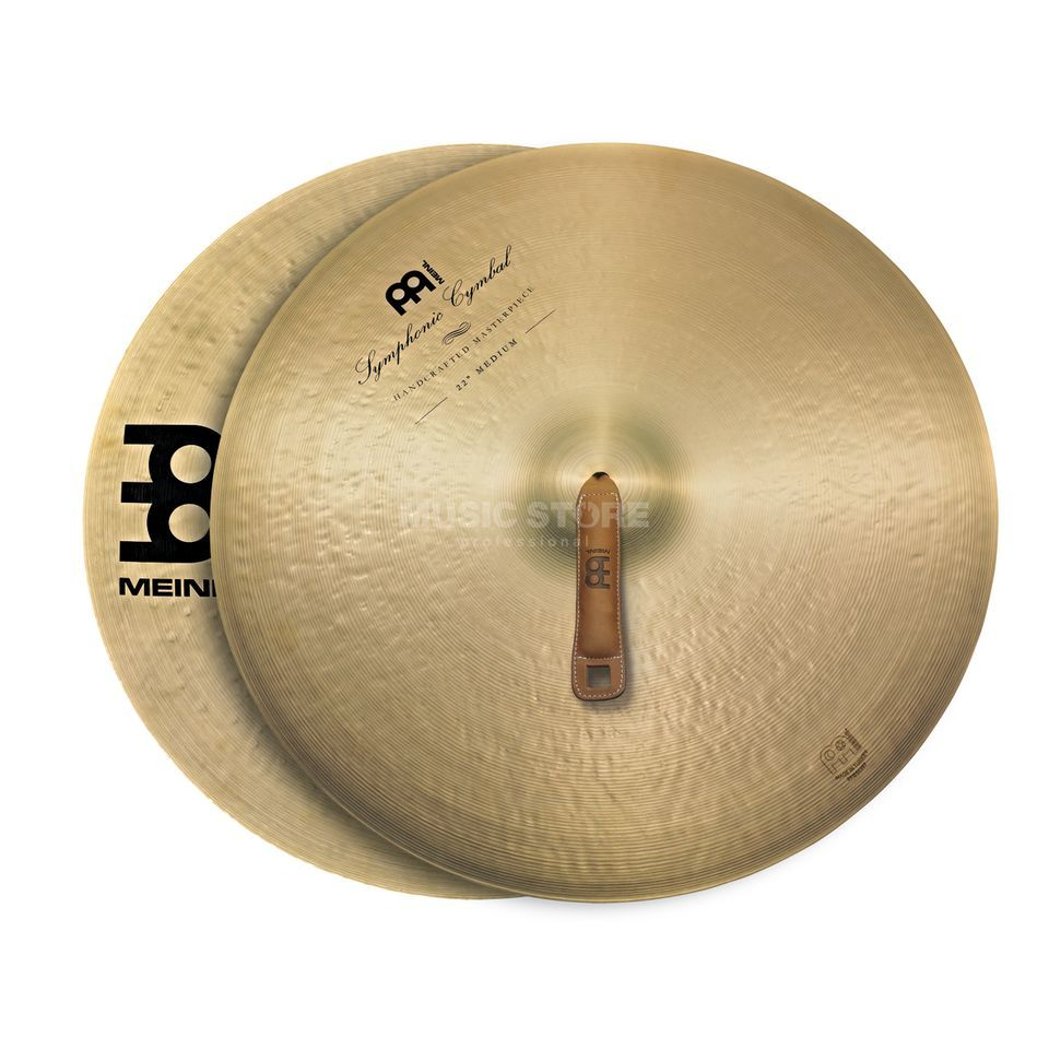 "Meinl Symphonic Cymbals 18"", Medium, SY-18M Productafbeelding"