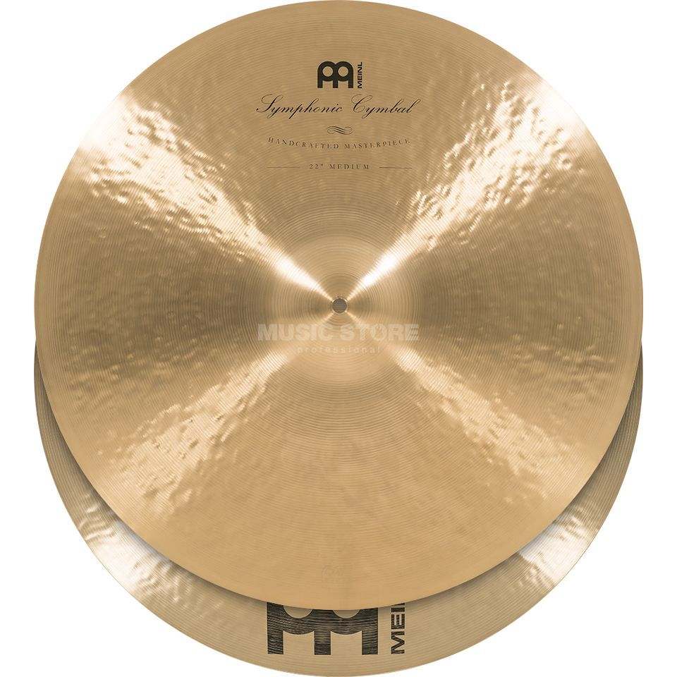 "Meinl Symphonic Cymbals 22"", Medium, SY-22M Productafbeelding"