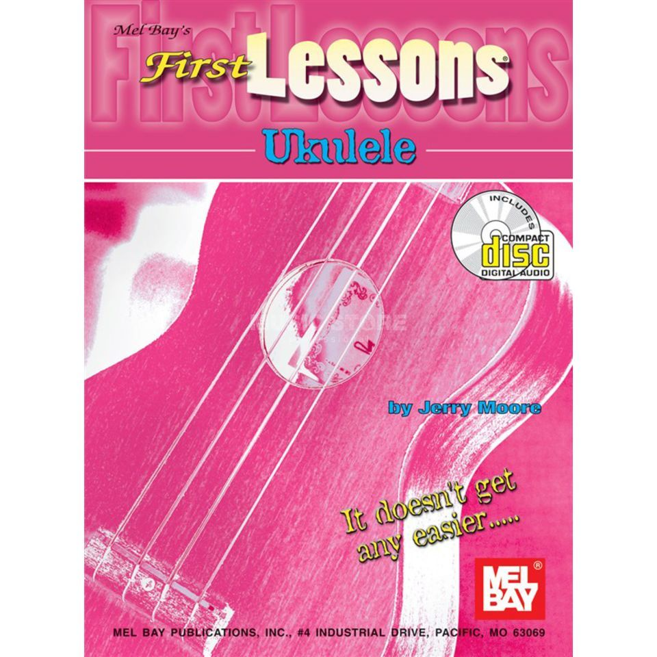 Mel Bay Publications First Lessons Ukulele Jerry Moore Produktbillede