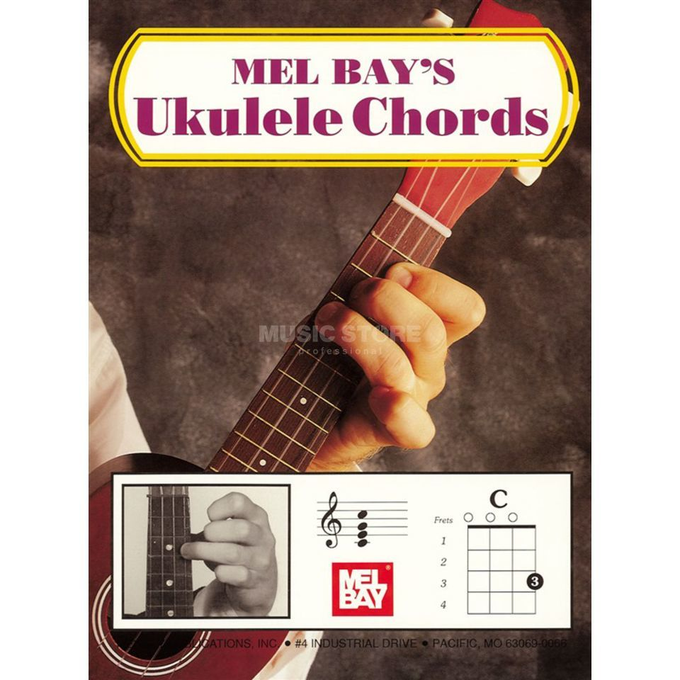 Mel Bay Publications Ukulele Chords  Produktbillede