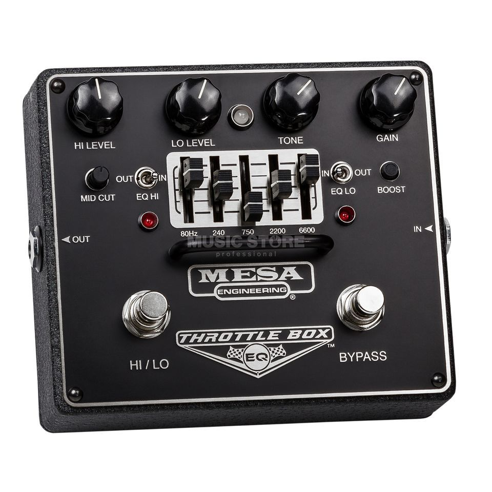 Mesa Boogie Throttle Box EQ Distortion Produktbild